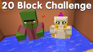 Download Minecraft PS4 - 20 Block Challenge - The Haggler (28) Video