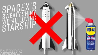 Download Why SpaceX ditched lightweight Carbon Composites for Stainless Steel to make a sweaty Starship Video