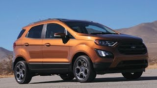 Download 2018 Ford EcoSport SES - Drive, Interior and Design Video