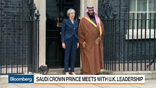 Download Saudi Crown Prince Meets With U.K. Leadership Video