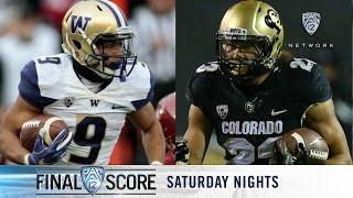 Download 2016 Pac-12 Football Championship Game preview: Colorado vs. Washington Video