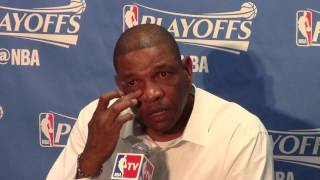 Download Clippers' coach Doc Rivers cries before game 5 vs. Blazers Video