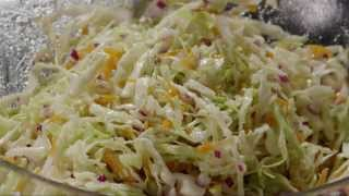 Download Salad Recipe - How to Make Cabbage Coleslaw Video