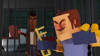 Download Minecraft | Hello Neighbor - LOCKED IN THE BASEMENT? (Hello Neighbor in Minecraft) Video