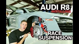 Download How to Install Race Suspension on Your Car: AUDI R8 Video