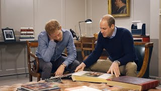 Download Prince William and Prince Harry Remember Princess Diana on 20th Anniversary of Her Death Video