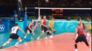Download BEST VOLLEYBALL ACTIONS OLYMPICS 2008 (HD) Video