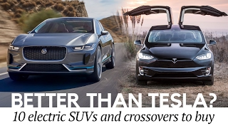 Download Better than Model X? Top 10 Electric Crossovers and SUVs Similar to Tesla Cars Video