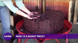 Download Winemaking 101: What is a basket press? Video