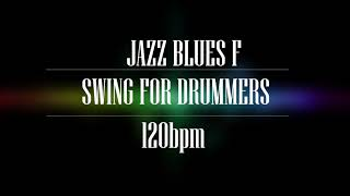 Download Swing Jazz Backing Track in F | 120 Bpm NO DRUMS WITH CLICK Video