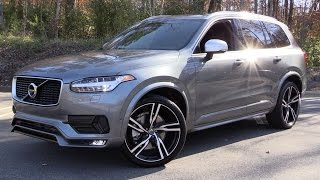 Download 2016 Volvo XC90 T6 R-Design Start Up, Test Drive, and In Depth Review Video