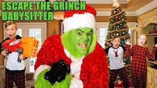 Download Escape the Babysitter! The Grinch Babysitter Showdown! Escape the Room to Save Christmas ! Video