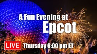 Download 🔴 Live: A Fun Evening At Epcot With Guardians & Illuminations | Walt Disney World Live Stream Video