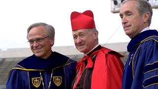Download Notre Dame Commencement 2018: Cardinal Cupich Honorary Degree Video