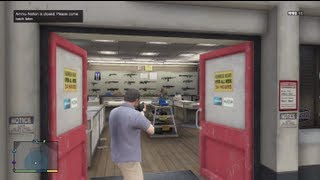 Download GTA 5 - Can you Rob A Gun Store? (Grand Theft Auto 5 Gameplay) Video