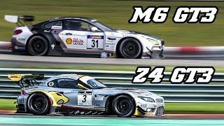 Download Sound comparison - BMW F13 M6 GT3 vs E89 Z4 GT3 Video