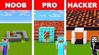 Download Minecraft NOOB vs PRO vs HACKER : SECRET MAZE TO FAMILY CHALLENGE in minecraft / Animation Video