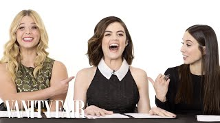 Download The Cast of Pretty Little Liars Takes a Lie Detector Test Video