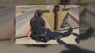 Download APD officers recount convincing man not to jump from overpass Video