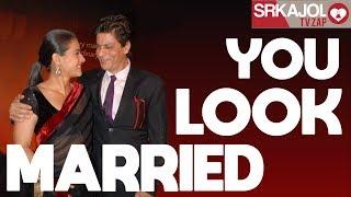 Download SRKajol TV Zap - You look married | Shah Rukh Khan and Kajol Video