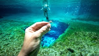 Download I Found 3 Wedding Rings Underwater in the River While Metal Detecting! $5,000+ (Rescue Mission) Video