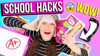Download 15 SAVAGE BACK 2 SCHOOL WEIRD HACKS 2017 U NEED NOW !! RELATABLE! +GIVEAWAY !! SIMPLYNAILOGICAL Video