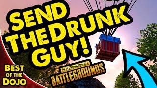 Download DRUNK CANADIAN GOES FOR BOX - PUBG Battlegrounds Best of Dojo Video