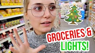 Download UNPREPARED GROCERY SHOPPING + HANGING CHRISTMAS LIGHTS! Video