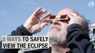 Download 5 ways to safely view the 2017 total solar eclipse Video