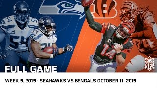 Download Bengals Big Comeback for OT Win vs. Seahawks (Week 5, 2015) | NFL Full Game Video