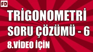 Download YARIM AÇI FORMÜLLERİ SORU ÇÖZÜMÜ ◄ 11.SINIF, LYS ► [ TRİGONOMETRİ - 8 İÇİN ] Video