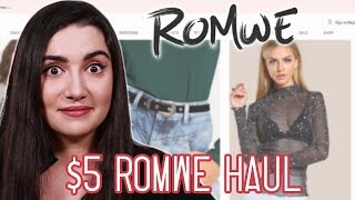 Download I Wore $5 Clothes From Romwe For A Week Video