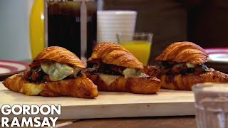 Download Merguez & Fontina Stuffed Croissants Video