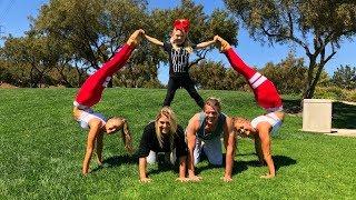 Download Extreme Yoga Challenge Ft Sav, Cole & Everleigh Video