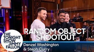 Download Random Object Shootout with Denzel Washington and Steph Curry Video