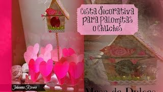 Download Como Decorar Mesa de dulces Scrapbook, cestas decorativas Paso a Paso Video
