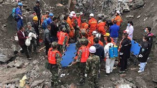 Download Sichuan landslide: Local authorities release identities of 118 missing people Video