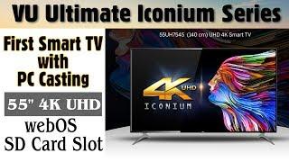 Download VU 55 Inches 4K Ultra HD Smart LED TV | VU Iconium 55UH7545 |2017| Indepth Review| Best Budget 4k TV Video