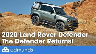 Download 2020 Land Rover Defender Reveal & First Look Video