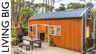 Download Architect and Designer Couple Create Spectacular Tiny House In The Bush Video