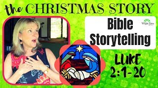 Download Bible Storytelling the CHRISTMAS STORY (Luke 2:1-20) CREATIVE CHILDREN'S MINISTRY IDEAS Video