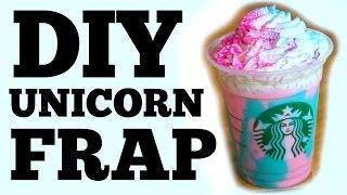 Download DIY UNICORN Frappuccino Video