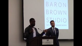 Download Sterling K. Brown talks about Justin Hartley Video