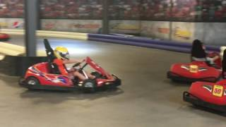 Download Go Kart Racing Tubular Kids at Overdrive Raceway Indoor Electric Go Kart Track Video