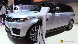 Download 2018 Range Rover Sport Plug In Hybrid P400e HSE - Exterior Interior Walkaround - 2017 LA Auto Show Video