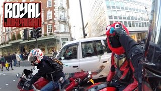 Download Honda MSX 125 (Grom) accidental ride with a Yamaha R6 Video