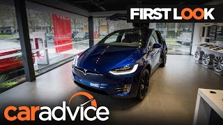 Download 2017 Tesla model X First Look Review | CarAdvice Video