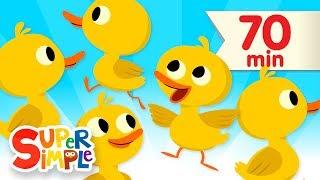Download Five Little Ducks + More | Kids Songs and Nursery Rhymes | Super Simple Songs Video