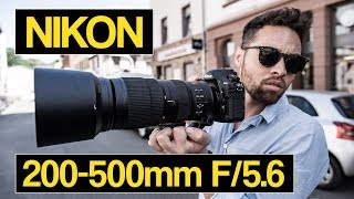 Download Nikon 200-500mm F/5.6 tested on D850 | best lens for sports, wildlife and spotting Video
