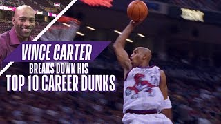 Download Vince Carter Ranks His Top 10 Career NBA Dunks! Video